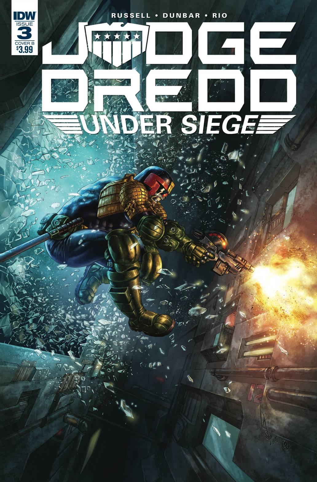 Judge Dredd Under Siege