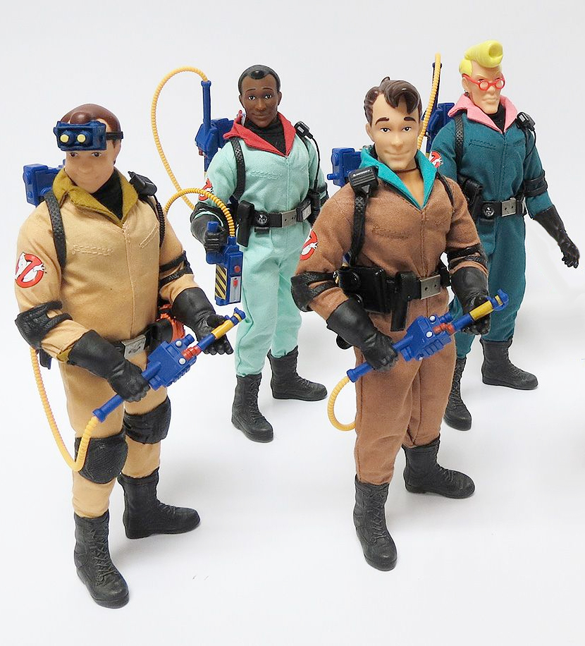 - Real Ghostbusters Wave 1 Set of Four Action Figures & Real Ghostbusters Wave 1 Set of Four Action Figures