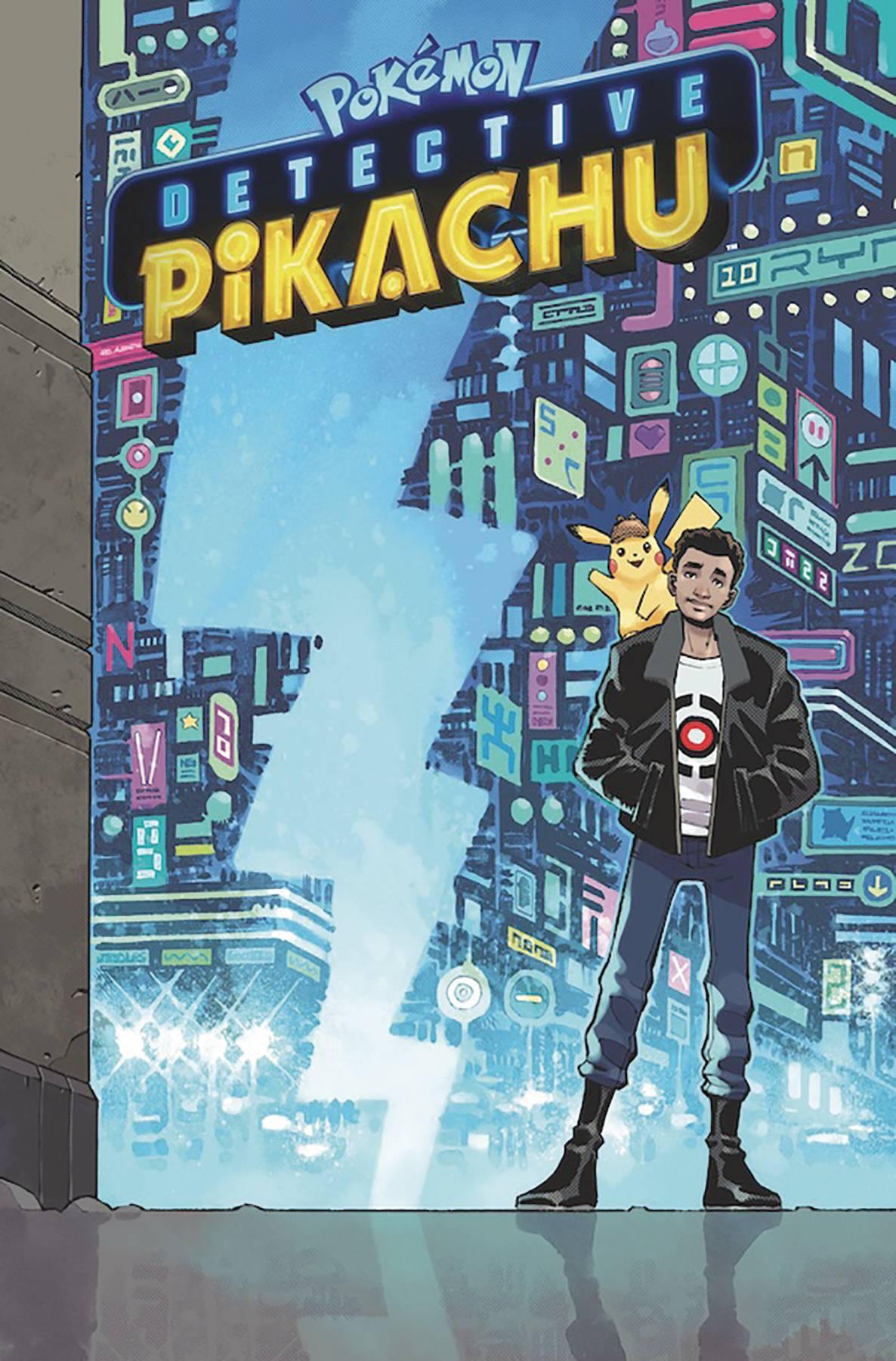 Pokemon Detective Pikachu Movie Graphic Novel