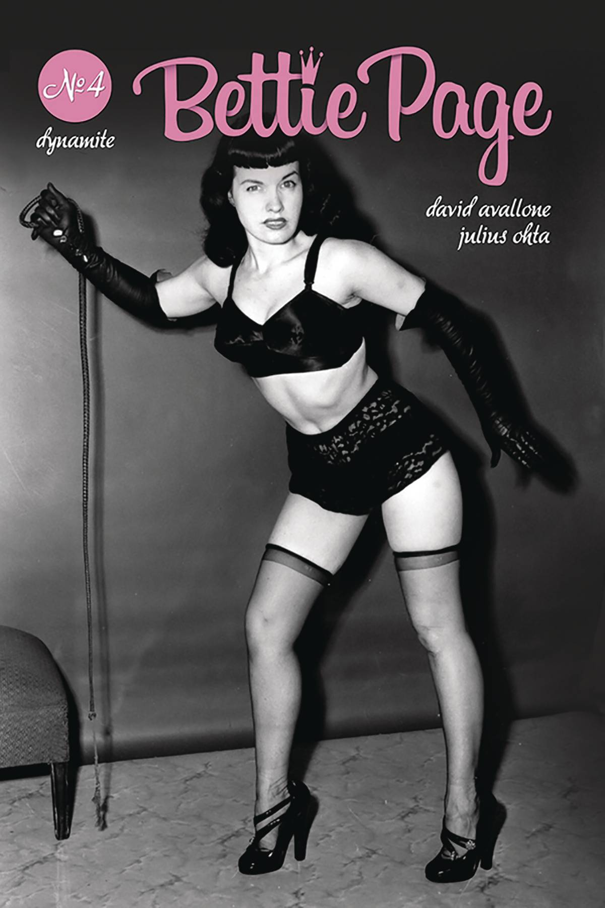 Bettie Page Hd bettie page #4 cover e photo