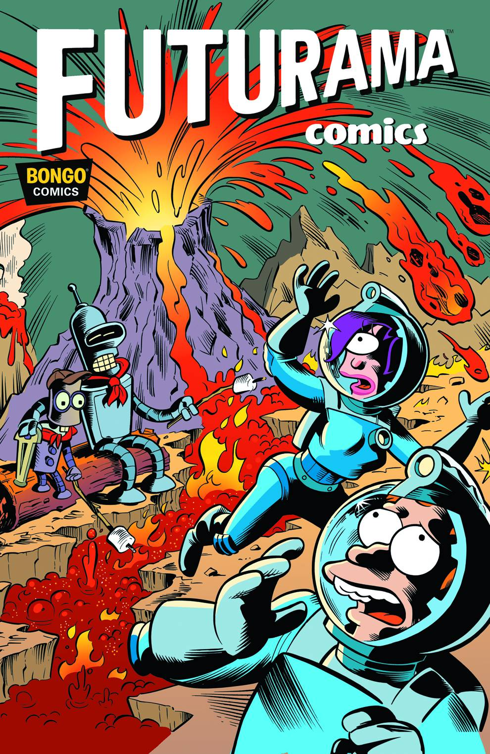 Futurama Comics welcome to up up & away! the comic book lover's comic shop