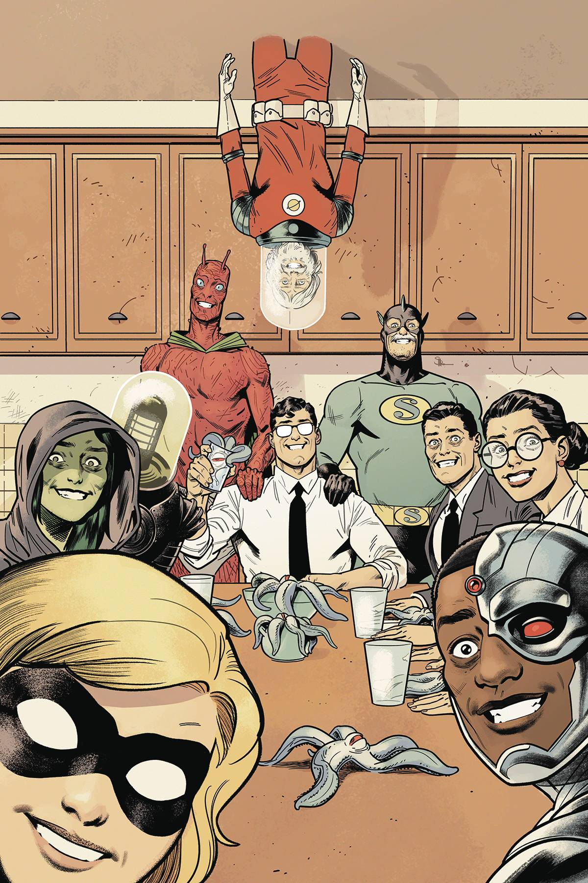 Black Hammer Justice League #3 Cover E Shaner (Of 5)