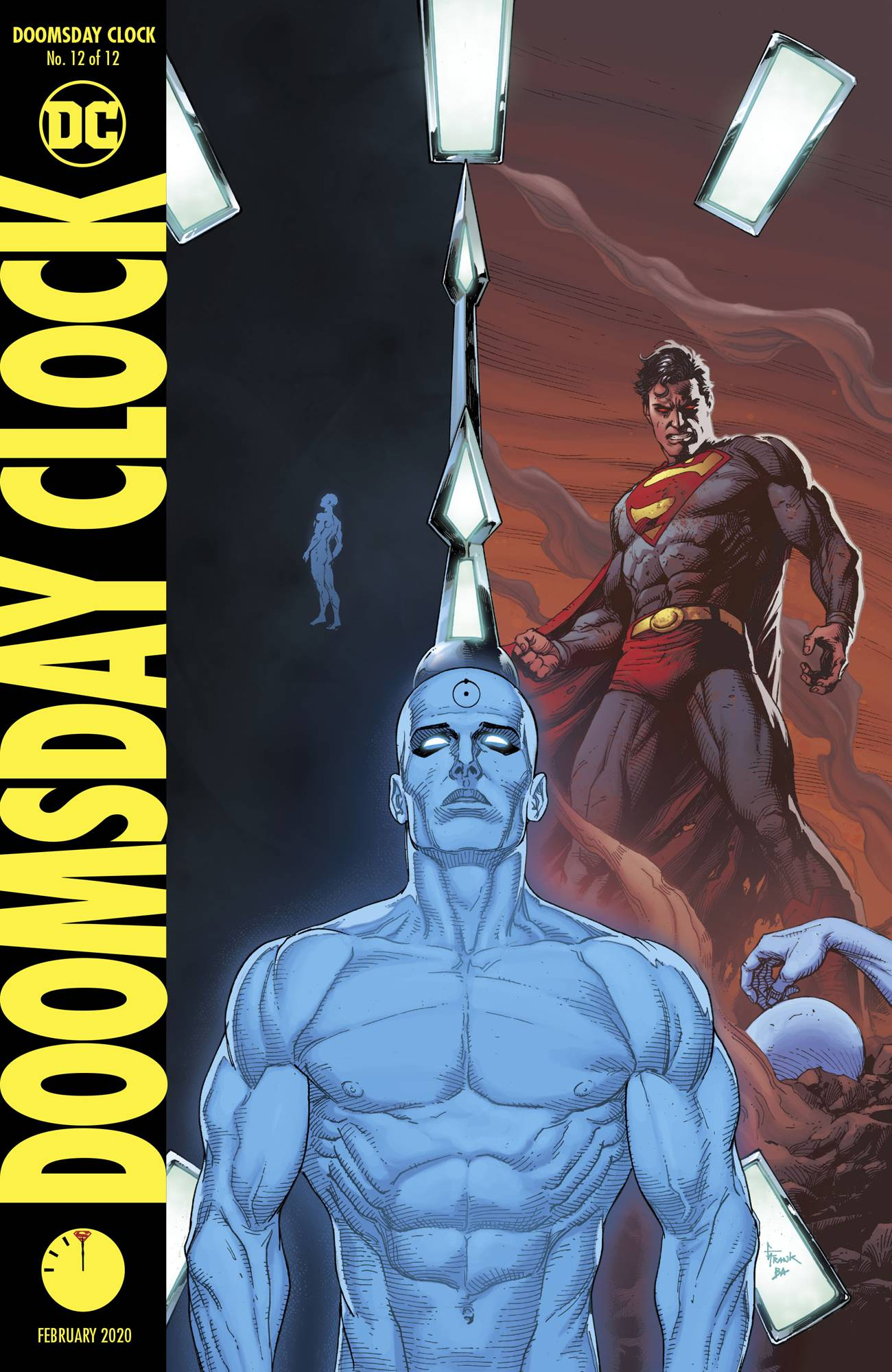 OF 12 DOOMSDAY CLOCK #5 VARIANT EDITION