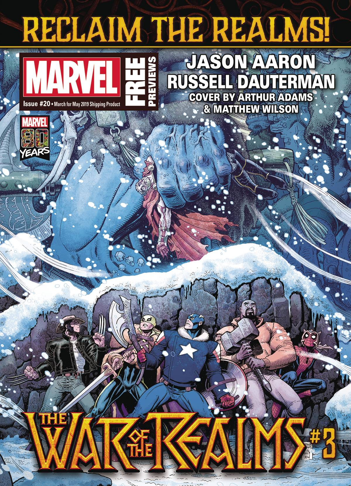 Marvel Previews Volume 4 #22 May 2019 Extras #190