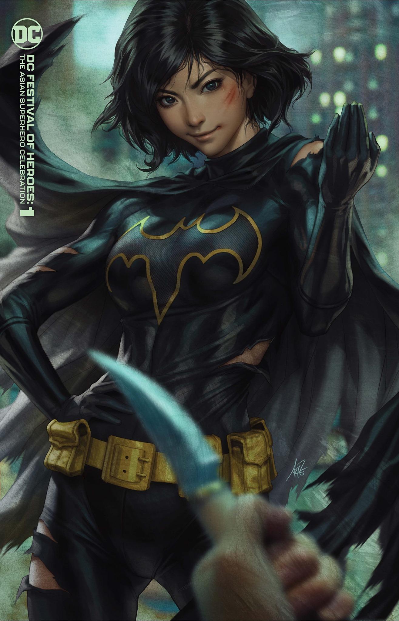 Dice Latte - DC Festival of Heroes The Asian Superhero Celebration #1 (One  Shot) Cover B Stanley Artgerm Lau Variant
